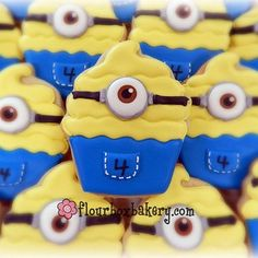 Birthday minions...@flourboxbakery
