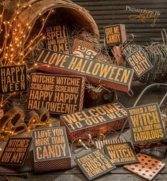 halloween decor by primitives by kathy owl sign halloween pinterest holidays halloween and halloween costumes - Primitives By Kathy Halloween
