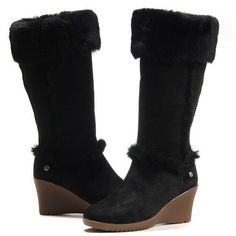 ( ⊙o⊙?) Ugg Sandra Boots 5449 Black #Cheap #UGG #Boots http://www.uggbootso.com/Cheap-UGG-Boots-52/Ugg--Boots-5449-101/ugg-sandra-boots-5449-black-p-964.html , THIS CHRISTMAS WILL OWN IT.. \(^o^)/~