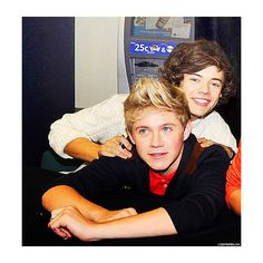 harry styles and niall horan <3 ❤ liked on Polyvore