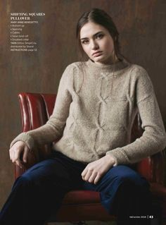 Keep calm and knit on. Wool And The Gang, Stitch Patterns, Knitting Patterns, Knitting Magazine, Knitted Coat, Knitwear, Knit Crochet, Pullover, How To Wear