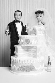 Let's Get Married Barbie & Ken Fine Art Photograph by nicolehouff