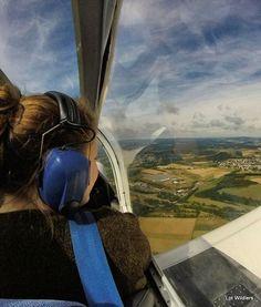 A bit bumpy but o so fine flying over the Eifel in Germany.