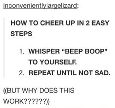 How to cheer yourself up