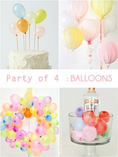 DIY:: #4 Fabulous  & Unique Balloon Projects !!