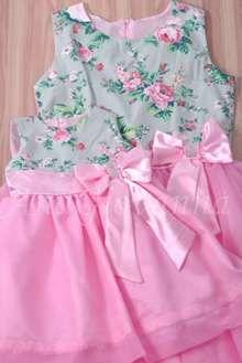 Vestidos Mãe e Filha Festa Jardim Encantado