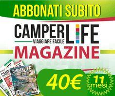 CAMPER LIFE il portale del camper e viaggi in camper per camperisti italiani | Viaggiare Facile in Camper e Caravan