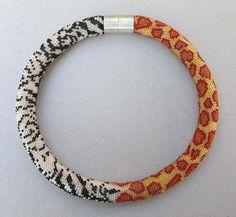 PaperBijou • Gorgeous crocheted necklaces by Hildegund Ilkerl,...