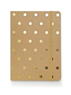 Polka Dot Kraft Journal #giftguide #stockingstuffer