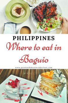 Baguio Foodscapades Canto, Vizco's, and Oh My Gulay Baguio Philippines, Philippines Travel, Tuscan Recipes, Baguio City, Best Places To Eat, Foods To Eat, Foodie Travel, Good Food, Awesome Food