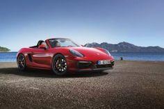 Seaside Red Porsche Boxster GTS HD Wallpaper
