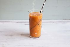 Quick Carrot Ginger Smoothie Recipe to help battle that cold