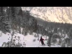 #Powder Day - October 24, 2012, in the #backcountry near Mt. Rose, NV, near Lake #Tahoe