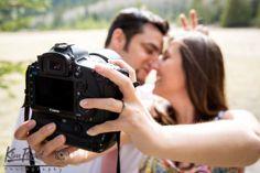 Banff engagement, lifestyle portraits,Outdoor portrait, banff engagement photographer, couple portraits, Photographer's engagement session, Photographers engagement theme, selfie engagement photo www.kimpayantphotography.com