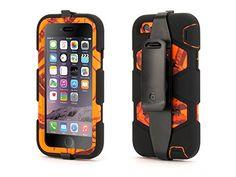Griffin Blaze/Black Survivor All-Terrain Case in Mossy Oak® Camo for iPhone 6