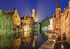 A two or three-night stay in postcard-perfect Bruges, with return Eurostar, breakfast and a glass of cava
