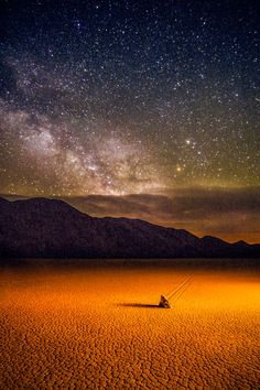 Photograph Milky Way with Moving Rock by Angela Chong on 500px