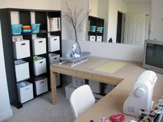 make me a quilt: sewing room