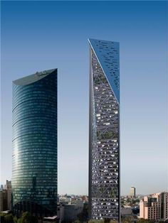 55 floors, Torre Reforma, Paseo de la Reforma, Mexico City
