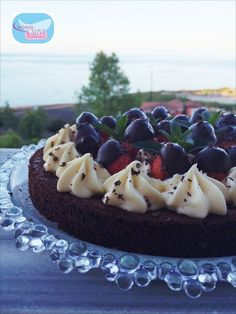 perfect pastry cream, the most delicious pastry cream, strawberry cake, easy . Strawberry Pie, Mini Cheesecakes, Pastry Cake, Acai Bowl, Bakery, Food And Drink, Breakfast, Desserts, Recipes