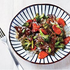 Beef and Broccoli Bowl | MyRecipes.com