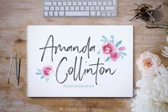 Watercolor Logo Design  Photography logo design by SweetLittleMuse