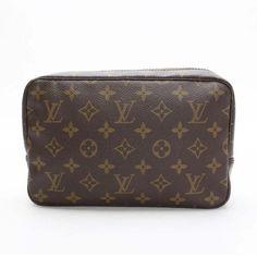 Louis Vuitton Trousse Toilette 23 Monogram Small bags Brown Canvas M47524