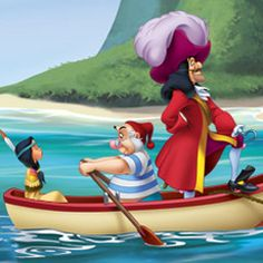 LILY SMEE CAPTAIN HOOK Peter Pan 1953