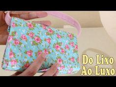 Do Lixo ao luxo Bolsa com Caixa de Leite - Reciclagem Artesanato DIY - YouTube