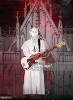 Nameless Ghoul of Ghost performs on stage during Download Festival at Donington Park on June 10, 2012 in Castle Donington, United Kingdom.