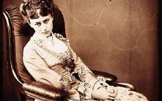 Alice Liddell, the girl who inspired the famous children's story, 'Alice's Adventures in Wonderland'