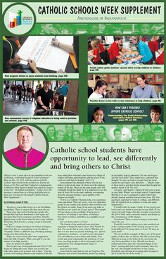 See our 2012 Catholic Schools Week Supplement