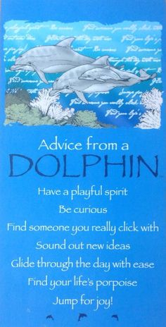 California Advice From a Dolphin Sign Size: This sign is Name dropped with California Dolphin Quotes, Dolphin Images, Animal Spirit Guides, Jumping For Joy, Animal Totems, Belleza Natural, Ocean Life, Parenting Advice, Parenting Books