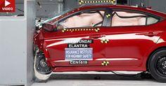 2017 Hyundai Elantra Gets Maximum Safety Rating From IIHS #Hyundai #Hyundai_Elantra