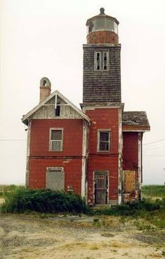 Abandoned Lighthouse - Mispillion, Delaware