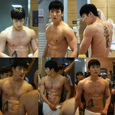 Channel-Korea has introduced 15 Pictures of Ji Chang-wook Showing His Awesome Abs! Ji Chang Wook Abs, Ji Chang Wook Healer, Ji Chan Wook, Hot Korean Guys, Korean Men, Asian Actors, Korean Actors, Healer Kdrama, Mbc Drama