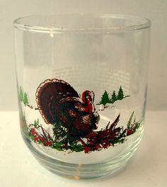 On the Rocks North American #Turkey Glass #Butterball