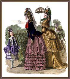 Victorian Fashion (73 фото)