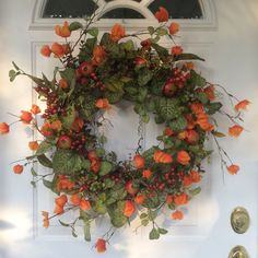 Autumn Wreaths-Fall Wreaths-Front Door Decor-Fall by ReginasGarden