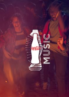 Creative Review - Dynamic logo powers new Coca Cola Music identity by W+K