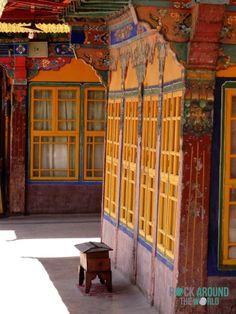 Jokhang Tempel in der Altstadt von Lhasa, Tibet