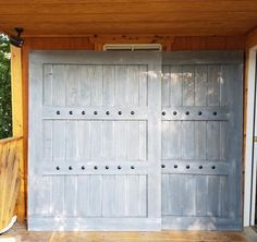 There are basically two types of barn door hardware. The first is a rustic, flat track sliding door system The second is a more modern roller and track style Rustic Window Treatments, Shutter Designs, Sliding Windows, Sliding Door, Interior Windows, Shutter Doors, Double Barn Doors, Barn Door Hardware, Door Hinges