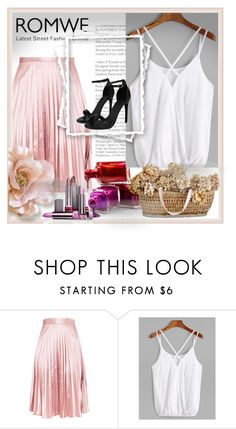 """Romwe"" by dzenanlevic99 ❤ liked on Polyvore featuring Boohoo"