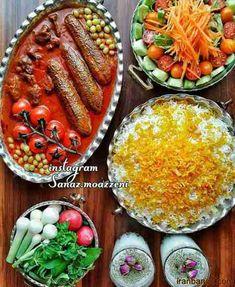 Persian Culture, Iranian Food, Food Art, Cobb Salad, Foods, Recipes, Iran Food, Food Food, Food Items