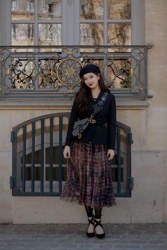 Suzy x Dior 2019 Fashion Week Paris, Vintage Mode, Look Vintage, Dress Vintage, Dior, Suzy Bae Fashion, Jessica Jung, Asian Celebrities, Bae Suzy
