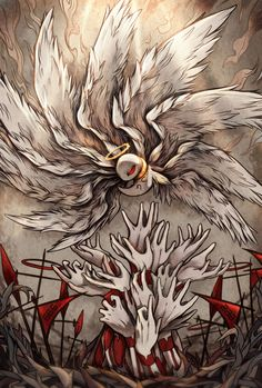 「lobotomy corporation nothing there fanart」の画像検索結果 Monster Characters, Dnd Characters, Magic Symbols, Angels And Demons, Anime Artwork, Mythical Creatures, Amazing Art, Cool Art, Concept Art