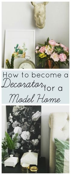 How to become a Decorator for a Model Home - at home with Ashley