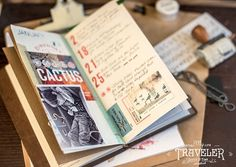 Travelers Notebook | January2015 Stitch in Time