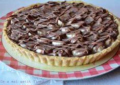 Tarta cu crema de vanilie si banane Something Sweet, Cheesecake, Food And Drink, Sweets, Cookies, Desserts, Pies, Banana, Kuchen
