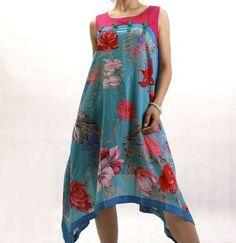 Cotton sleeveless Long dress by MaLieb on Etsy, $66.00